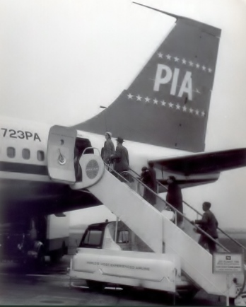 PIA First B720 on lease from Pan Am