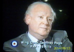 Geoffrey Page wingcommandergeoffreypageraf5kills smhusain1s Blog
