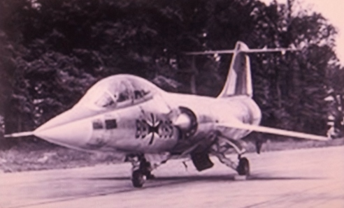 A German F-104F in 1960