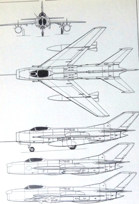 mig-19-specifications