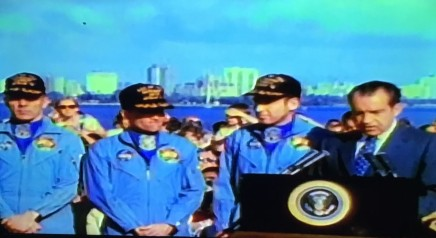 Nixon on recovery of Apollo 13