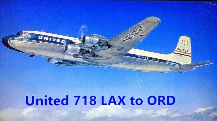 United 718